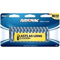 Rayovac  AAA Batteries - 24 Pack