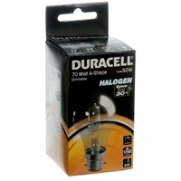 Duracell  Eco Halogen A Shape Light Bulb - 70W BC