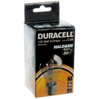 Duracell  Eco Halogen A Shape Light Bulb - 105W BC