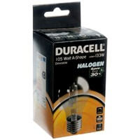 Duracell  Eco Halogen A Shape Light Bulb - 105W ES