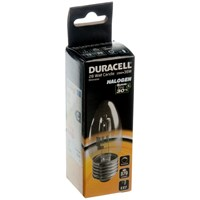 Duracell  Eco Halogen Candle Light Bulb - 28W ES