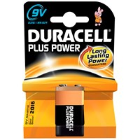 Duracell  Plus Power Battery - 9V