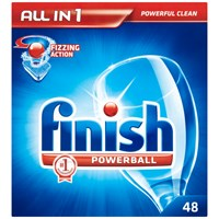 Finish  All-in-1 Powerball Dishwasher Detergent - 48 Tablets