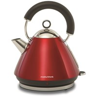 Morphy Richards  Traditional Red Kettle - 1.5 Litre