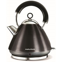 Morphy Richards  Traditional Black Kettle - 1.5 Litre