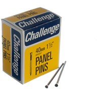 Challenge  Zinc Plated Panel Pins - Tray