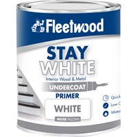 Fleetwood Stay White Primer Undercoat Paint - 750ml