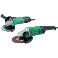 Hitachi  Angle Grinders Twin Pack - 110V & 220V