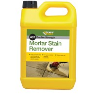 Everbuild  407 Mortar Stain Remover - 5 Litre