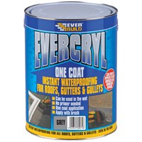 Everbuild Evercryl One Coat Waterproof Resin 5kg - Grey