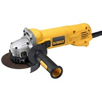 Dewalt  D28113K 115mm Mini Angle Grinder in Kit Box - 110V