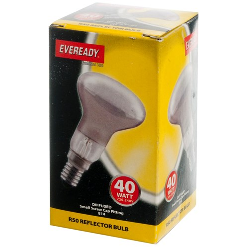 Eveready  Incandescent Reflector Light Bulb - 40W R50 SES