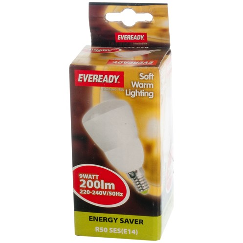 Eveready  CFL Reflector Soft Lite Light Bulb - 9W ES R50