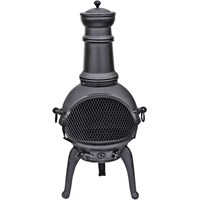 La Hacienda  Lisbon Cast Iron Chiminea