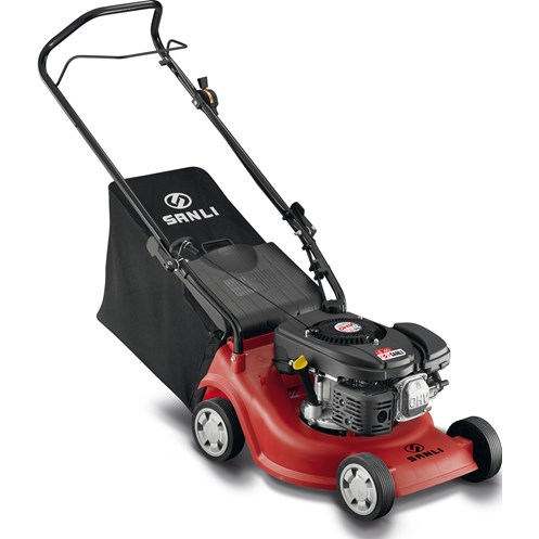 Sanli  Push Petrol Lawnmower - 16in