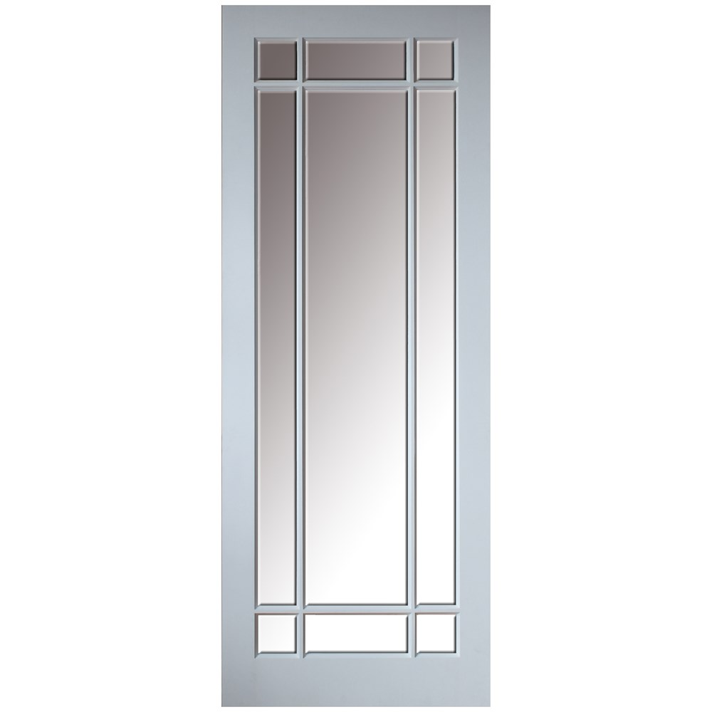 Indoors Gibson 9 Panel Bevel Glazed Interior Door Pre Primed