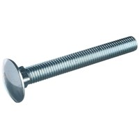 Allgrip  Cup Square Head Bolt & Nut - 6mm