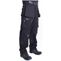 Cargo  Ultra Work Trousers - Black