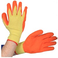 Bodyworks  Economy Grip Gloves - Orange