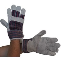 Bodyworks  Canadian Rigger Gloves - Grey