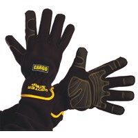 Cargo  Winter Snap Gloves - Black/Yellow