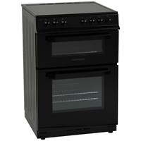 NordMende  Black Freestanding Electric Cooker 60cm - CTEC60BK